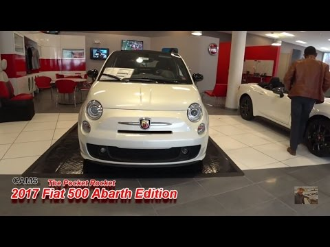 2017 Fiat 500 Abarth Edition Cold Start and Test Drive