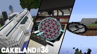 CakeLand FTB #36: Обзор мира Кейклэнда! Финал? Minecraft CakeLand World tour
