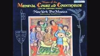 Music of Medieval Court and Countryside (for the Christmas season) part 1