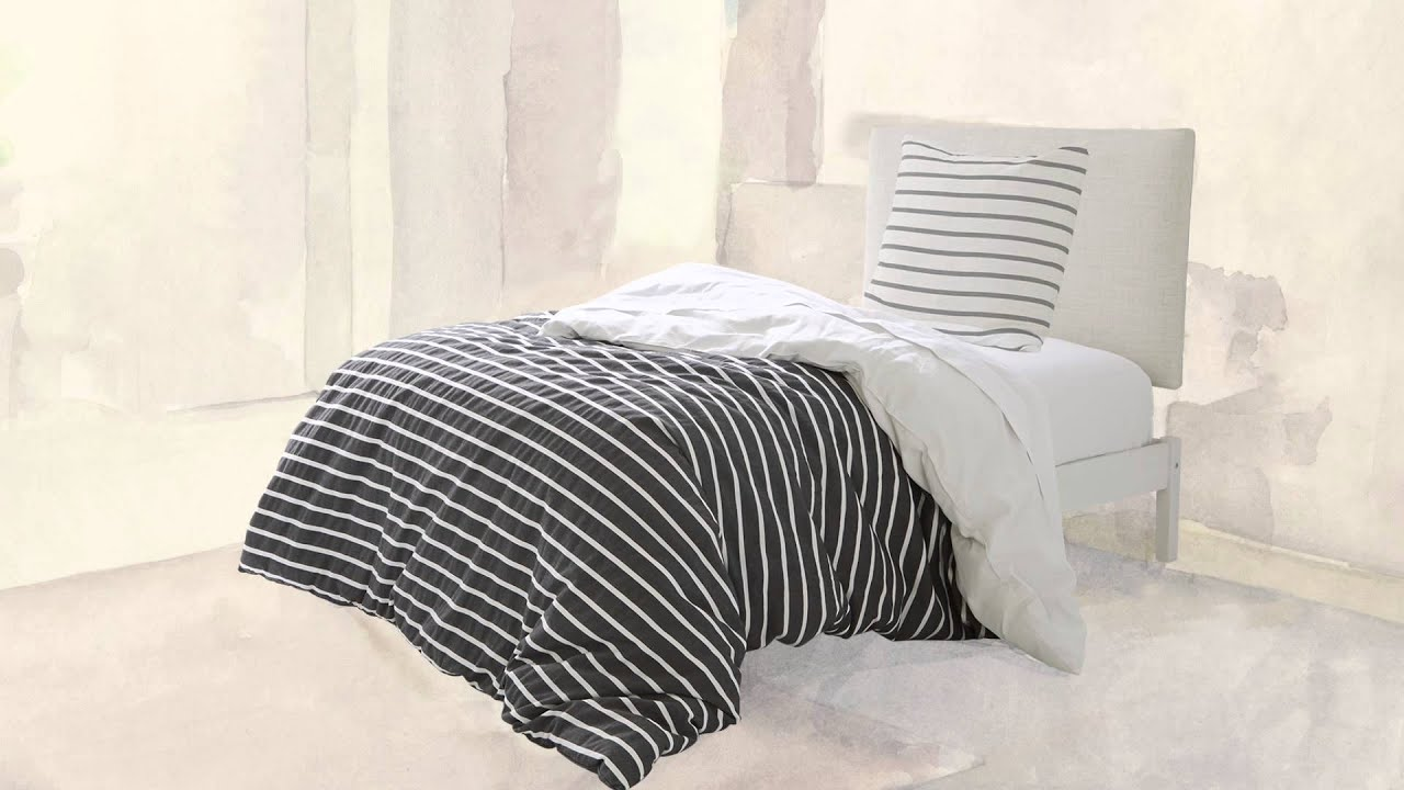 Kate Spade Bedding Kate Spade New York Harbour Stripe Comforter Set Youtube