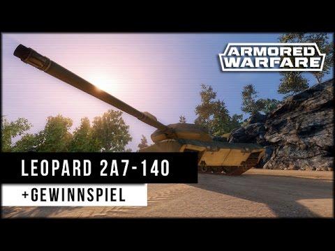 Armored Warfare: Leopard 2A7-140 - Tier 10 [ deutsch | gameplay ]