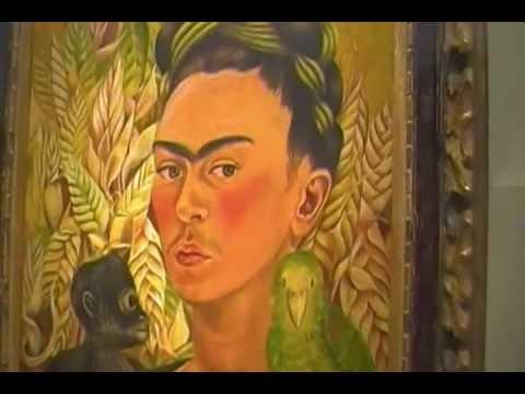 Malba obra de frida kahlo youtube for Cuartos decorados de frida kahlo