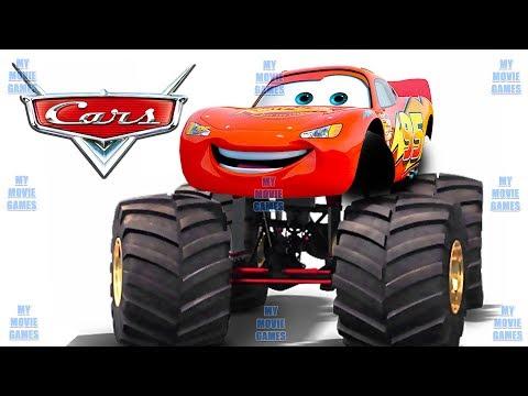 DEUTSCH CARS MONSTER TRUCK LIGHTNING MCQUEEN Cars Für Kinder My Movie Games