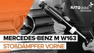 Wie Sie Bremstrommel beim MERCEDES-BENZ M-CLASS (W163) selbstständig austauschen - Videoanleitung