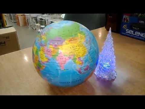 Сувенир глобус поворотный. Политическая карта мира