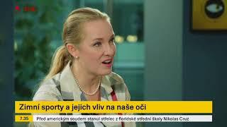 MUDr. Lucie Valešová TV Seznam -  péče o zrak - 20.2.2018