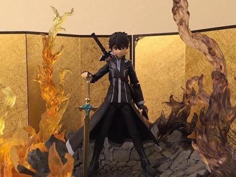 Figma 289 Sword Art Online II Kirito Alo.ver Unboxing Review & Comparison