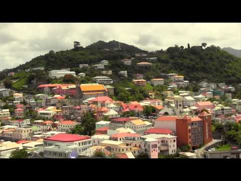 St George's Town Tour - My Grenada Vacation