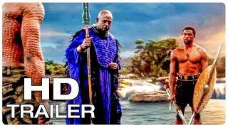 BLACK PANTHER Movie Clip Killmonger Threatens To Kill T'Challa + Trailer (2018) Superhero Movie HD