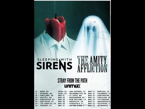 Sleeping With Sirens w/ The Amity Affliction + Stray From The Path and Unity TX tour 2020!