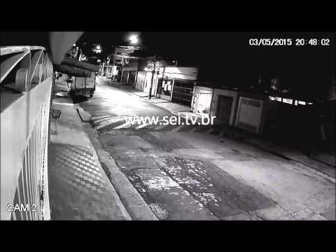 Exemplo de Imagem HDCVI Noite Intelbrás Câmeras de Segurança 720p CFTV HD