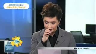 Dzień Dobry TVN- Wpadki dziennikarskie cz1.