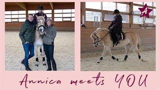 Annica MEETS YOU I Ich besuche eine Zuschauerin I Reiten & Futterberatung by AGROBS