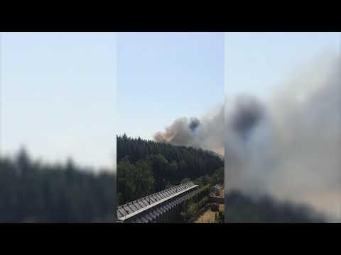 Großbrand in Hamm – Feuerwehrauto explodiert