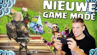 NIEUWE GAME MODE OP MOBIEL SPELEN!! FORTNITE NEDERLANDS