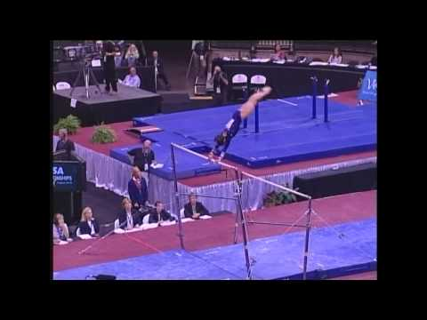 Kayla Hoffman (Rebound) - 2006 US Sr Nationals - Bars (Day 1)