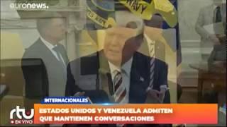 EEUU y Venezuela admiten que mantienen conversaciones