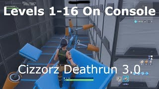 Cizzorz Deathrun 3.0 All Levels on Console
