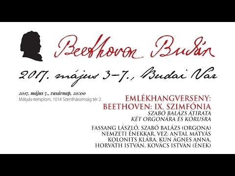 Beethoven Budán 2017 - Beethoven IX. szimfónia
