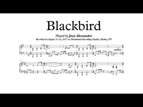 Blackbird - Joey Alexander  (Piano Transcription)