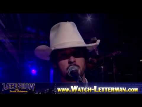 Ryan Bingham performs at David Letterman ( Jan/11/10 Monday ) NEW CD Crazy Heart Soundtrack