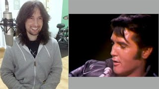 British guitarist analyses and dissects Elvis Presley's unique vocal ability live in 1968!
