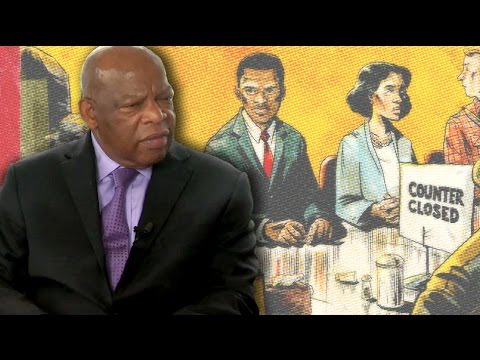"CBR TV @ SDCC 2013: Congressman John Lewis, Andrew Aydin on the Civil Rights Movement & ""March"""