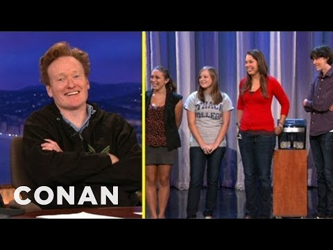 Scraps: Conan Grills The Ithaca College Interns - CONAN on TBS