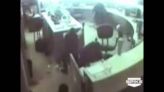 World's Wildest Police Videos: Detroit Police Station Shootout