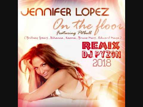 Dj Pyzon - On The Floor Mix  ( Mashup )