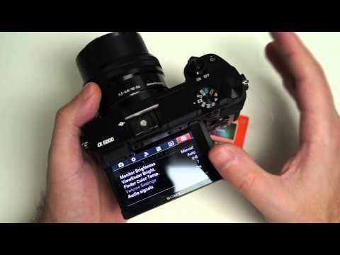 Sony Alpha A6000 Update