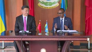 President Xi Jinping and  President Kagame  Joint Press Conference | Kigali, 23 July 2018