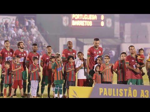 Portuguesa Santista garante a sua volta à Série A2 em 2019