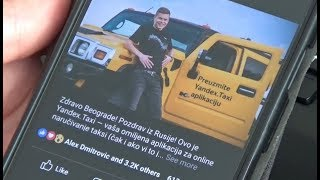Ruski Yandex ili beogradski taksi?