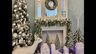 новогодний декор! Украсила камин! Decorated the fireplace