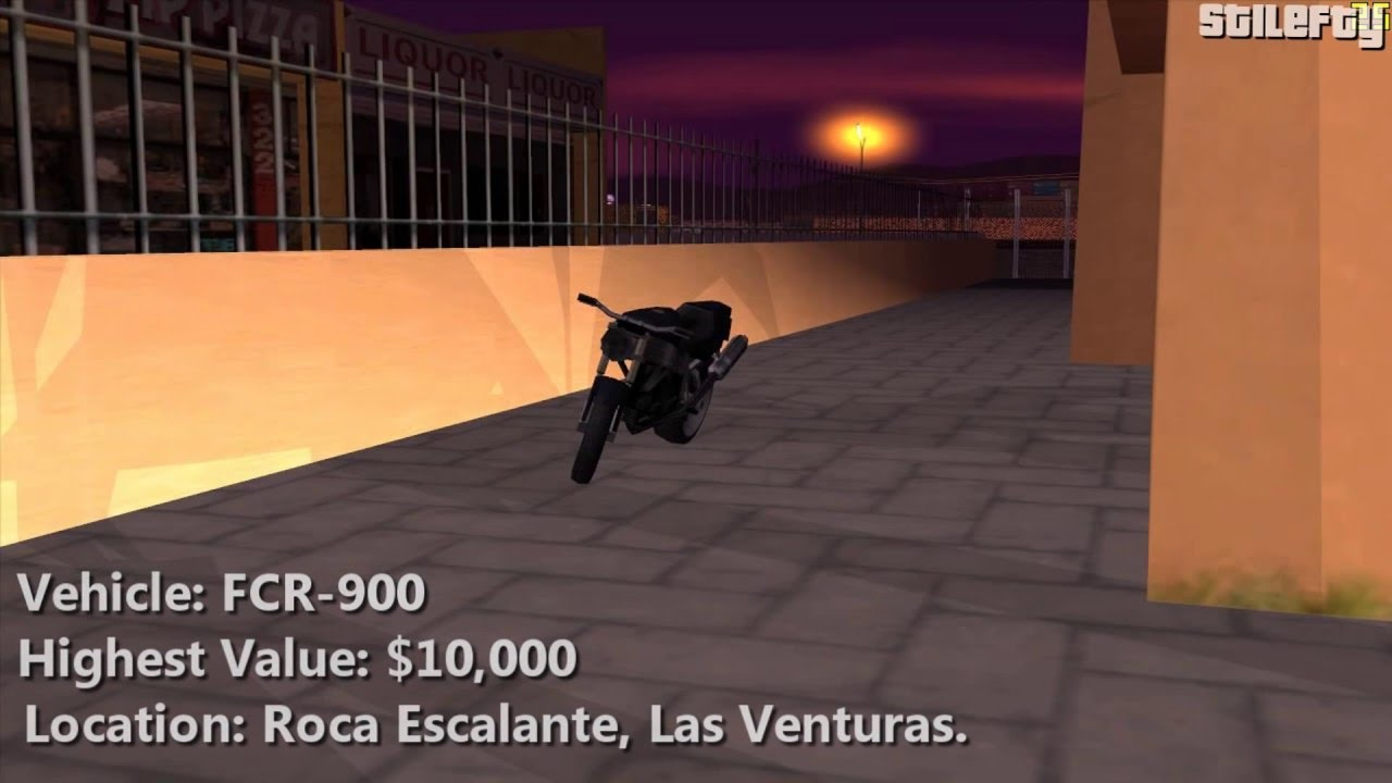 Gta San Andreas Importexport Vehicle 14 Fcr 900 Youtube