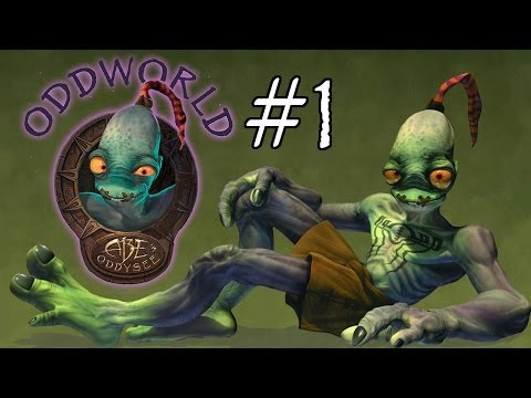 Let's Play Abe's Oddysee #1 - Follow me!