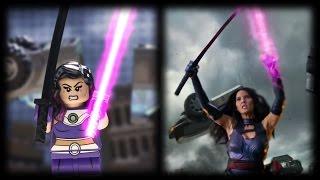 X-Men Apocalypse Lego Trailer Comparison