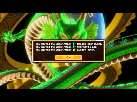 Dragon ball xenoverse:Shenron wish i want a new super attack part 2