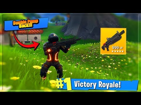 NEW Fortnite Update - Double Pump w/ Heavy Shotgun (Fortnite: Battle Royale) thumbnail