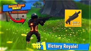 NEW Fortnite Update - Double Pump w/ Heavy Shotgun (Fortnite: Battle Royale) thumbnail