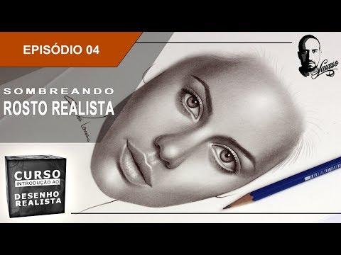 Curso de Introdução ao Desenho Realista   Ep.04 - Sombreando um rosto - Charles Laveso