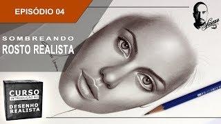 Curso de Introdução ao Desenho Realista | Ep.04 - Sombreando um rosto - Charles Laveso