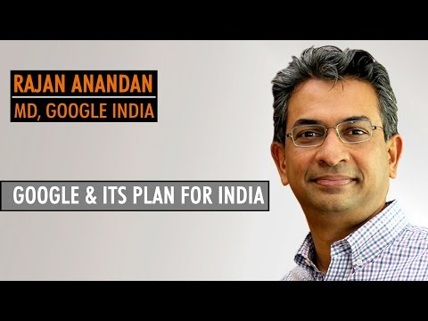 I learnt how to think big and focus- Rajan Anandan- Google