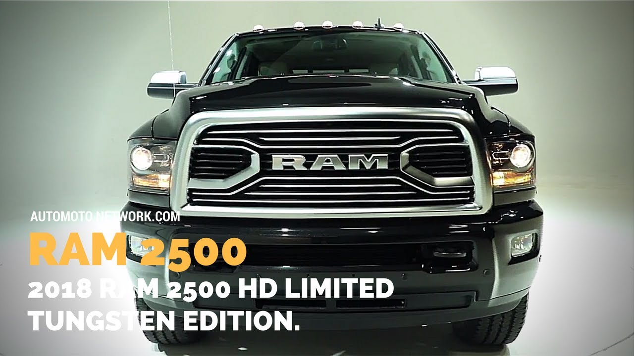 2018 dodge 3500 limited. fine 2018 2018 ram 2500 hd limited tungsten edition  beauty shots to dodge 3500 limited