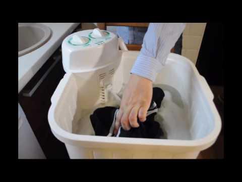 WS-35E полуавтоматическая стиральная машина - устройство и эксплуатация