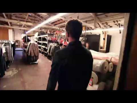 Justin Timberlake's Tour of the William Rast Design Studio Video