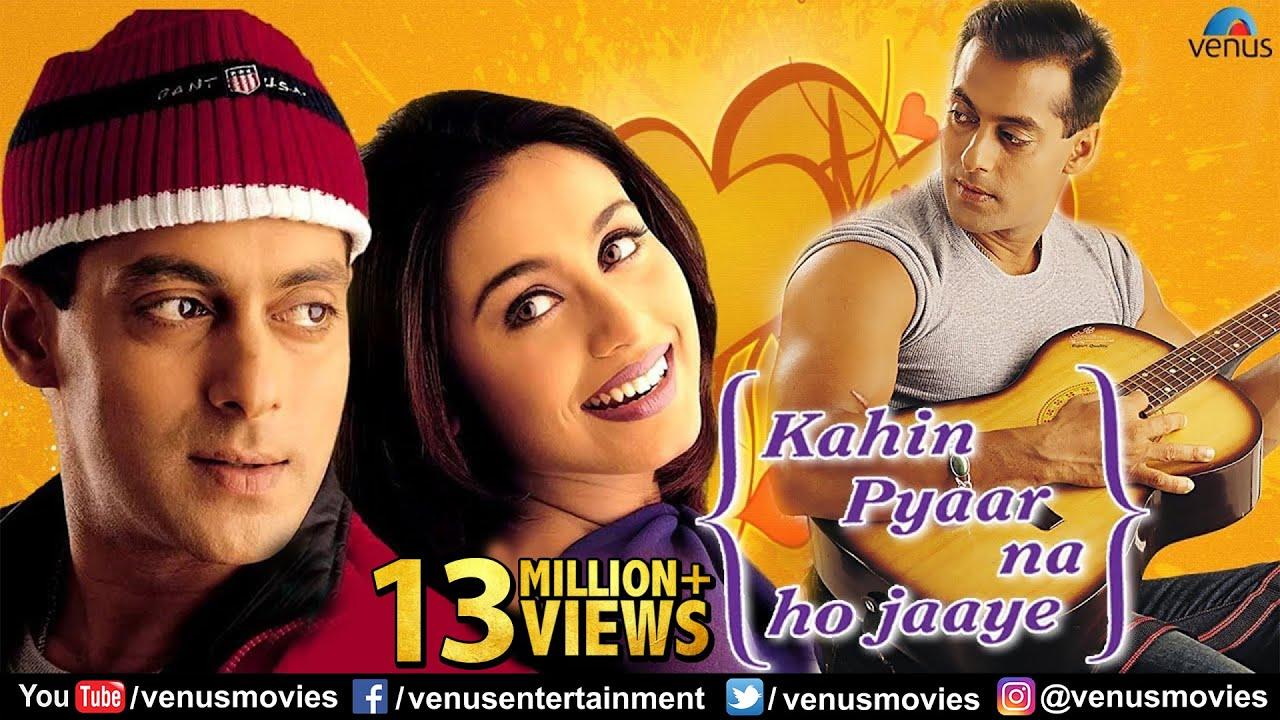 Rani Mukherjee Hd Wallpaper Kahin Pyaar Na Ho Jaaye Full Movie Hindi Movies Salman