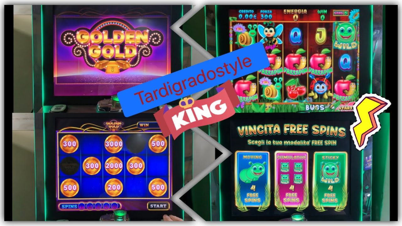 Slot da Bar e Tabacchi -Golden Gold (Toucans Vegas Vacation)-Vegas Gamer (Bugs)