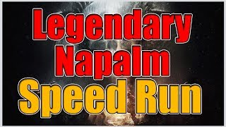 Legendary Napalm Production Site Speed Run | Best Strategy | The Division 1.7